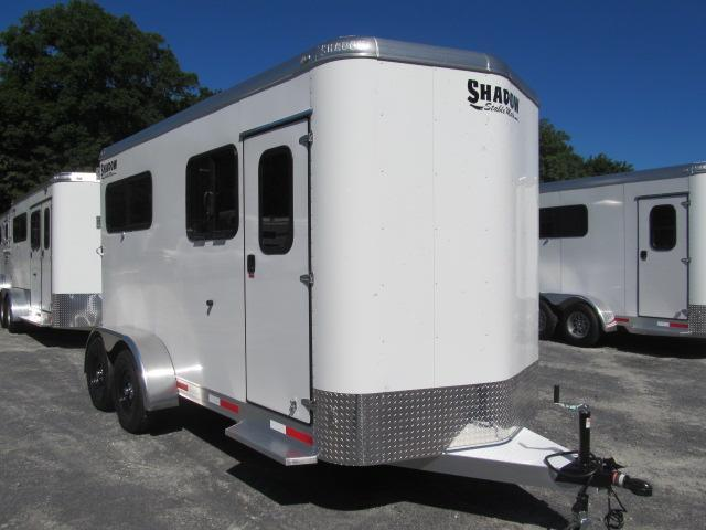 Shadow Trailers Stablemate 2H BP w/ Dressing Room Horse Trailer