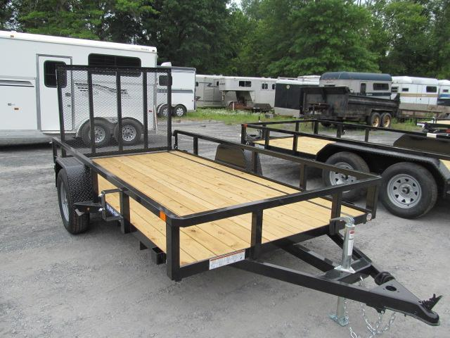 Sure-Trac 7 x 12 Tube Top Utility Trailer  3.5K Br