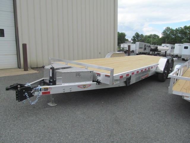 H and H Aluminum Speedloader 82 X 20 14K Equipment Trailer