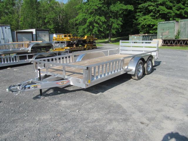 H and H Trailer Aluminum 7 X 18 ATV Trailer Utility Trailer