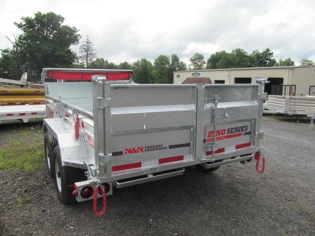 N and N Trailers 6 X 12 Inno Series Galvanized Dump Trailer