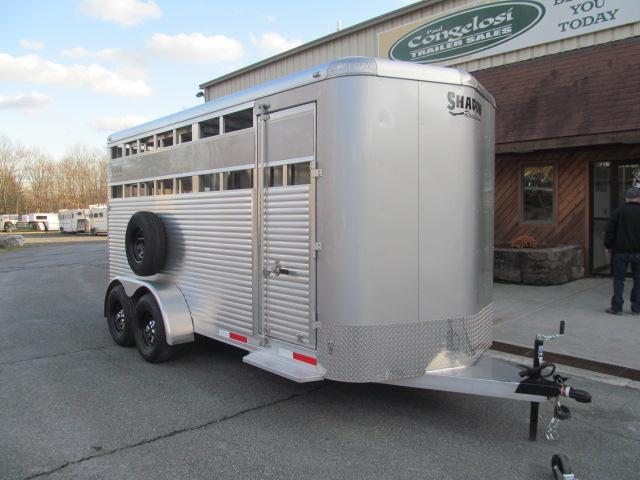 Shadow Trailers Rancher 16 Ft Bumper Pull Stock Livestock Trailer