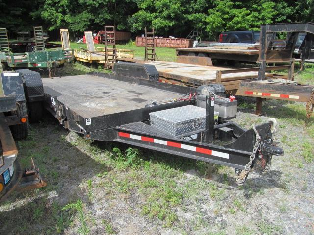 2017 Cam Superline BW Power Tilt 6 Ton Equipment Trailer