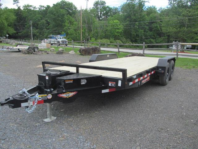 H and H Trailer 7 X 20 10K Steel Speedloader Equipment Trailer