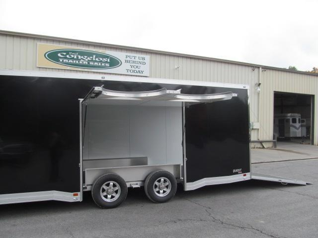 ATC CH 305 All Aluminum Car Trailer w/ Premium Escape Door