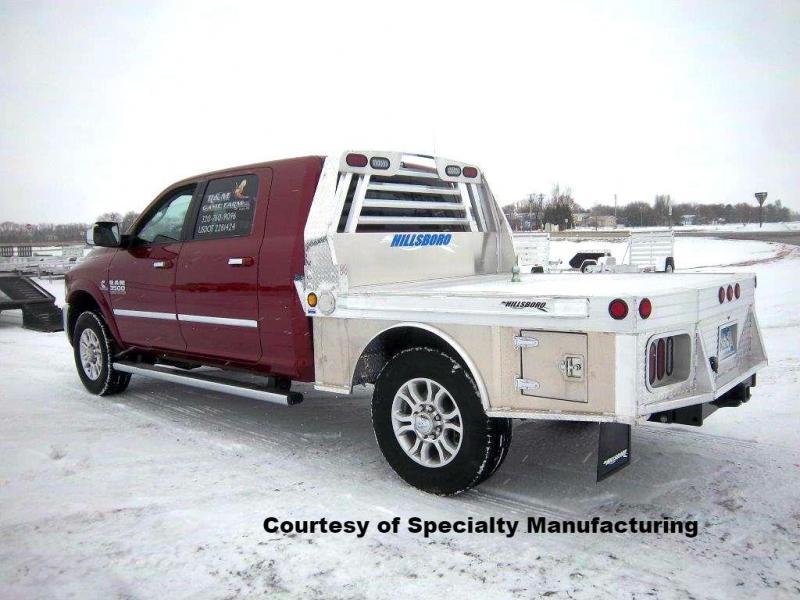 Hillsboro 3500 Series Aluminum Flatbed Truck Bed