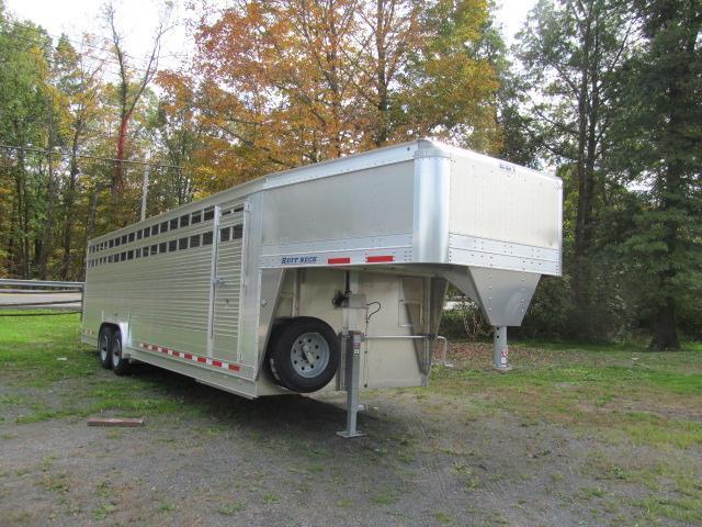 Eby 8 X 28 Ruffneck Livestock Trailer