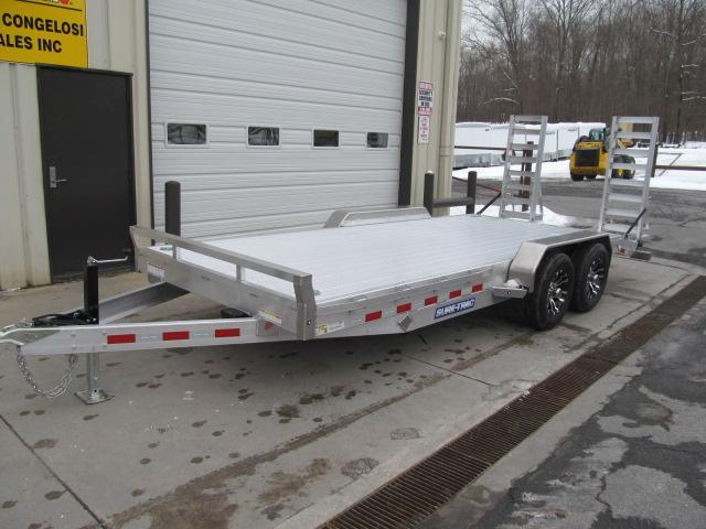 Sure-Trac 7 X 18 Aluminum Implement Trailer Equipment Trailer