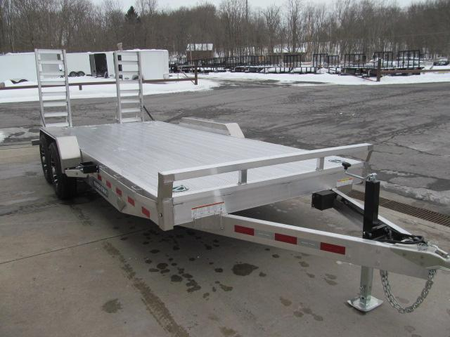 2021 Sure-Trac 7 X 18 Aluminum Implement Trailer Equipment Trailer
