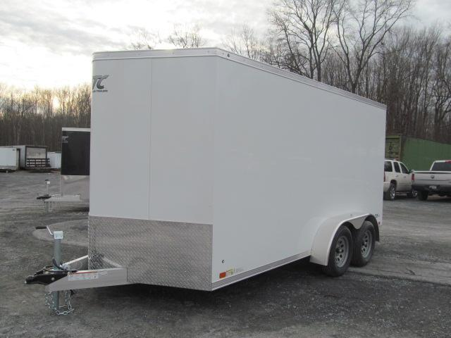 Aluminum Trailer Company Raven 7 X 14 V Front Enclosed Cargo Trailer