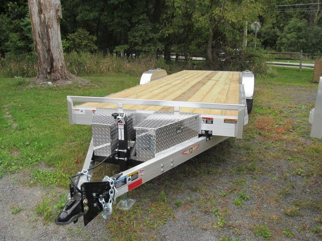 H and H Aluminum Speedloader 80 X 24 Equipment Trailer