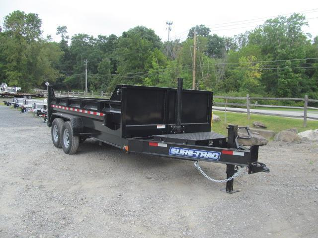Sure-Trac 82 IN x 14 Extra HD Low Profile Dump Trailer