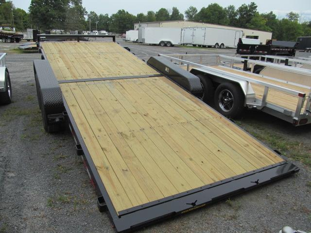 H and H Trailer 7 X 20 10K Steel Speedloader Equipment Trailer
