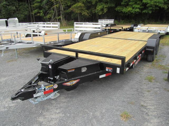 2021 H and H Trailer 7 X 20 10K Steel Speedloader Equipment Trailer