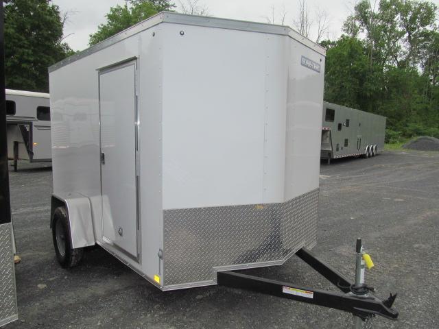 Sure-Trac 6 x 10 Enclosed Wedge  Single Axle