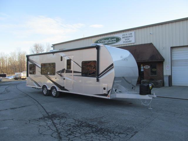 ATC (Aluminum Trailer Co) Gamechanger 2816 8.5 X 28 Front Bedroom Toy Hauler RV