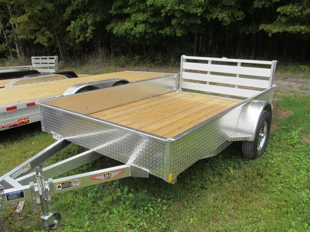 H and H Trailer 76 X 10 Aluminum Solid Side Utility Trailer