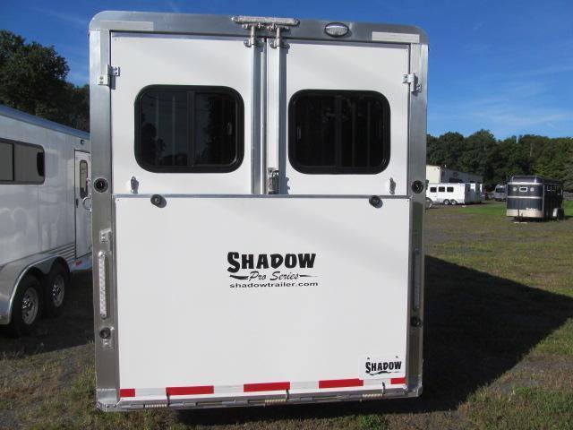 Shadow Trailers Pro Series 2 Plus 1 Gooseneck w/ Dressing Room Horse Trailer