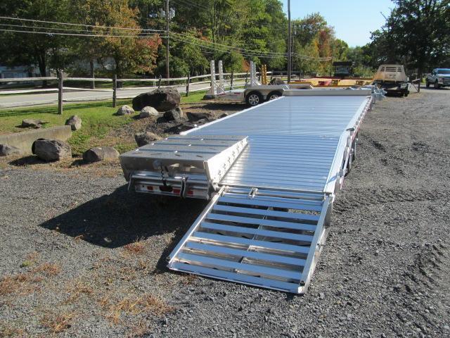 Eby Tradesman 24 Ft Aluminum Flatbed Deckover Equipment Trailer