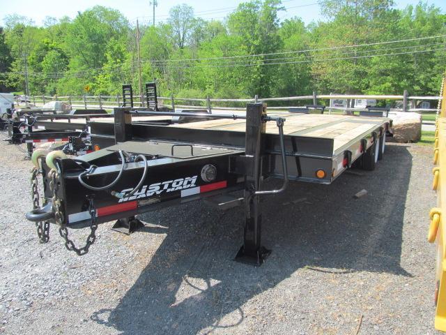 Custom Heavy Haul 20 Ton Equipment Trailer
