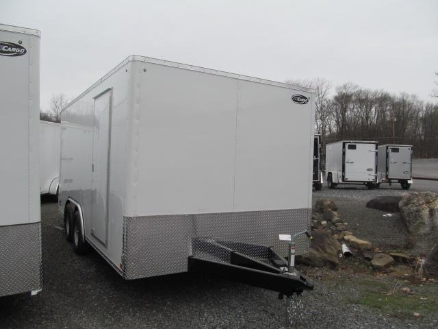 ITI Cargo Honor Line 8 X 16 Flat Front Cargo / Enclosed Trailer