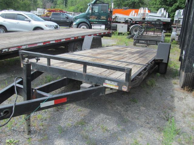 2017 Sure-Trac 78 X 12 Plus 4 Tilt Equipment Trailer