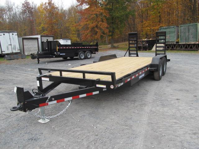 Sure-Trac 7 x 18 (16+2) Equipment Trailer  14K