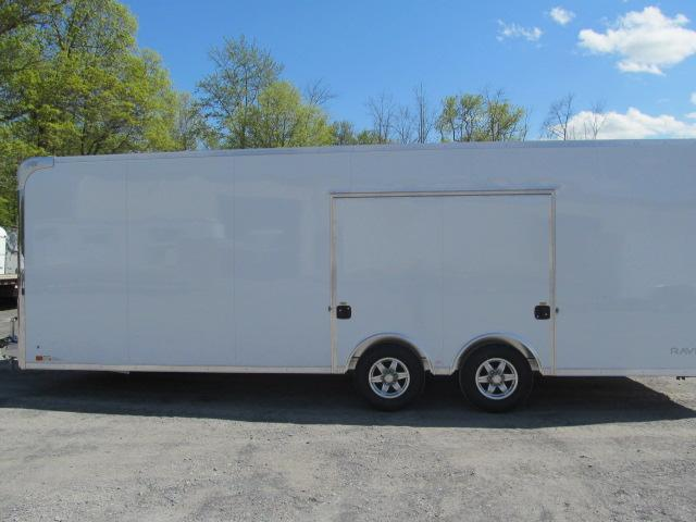 ATC 8.5 X 24 Raven Car Hauler w/ Premium Escape Door