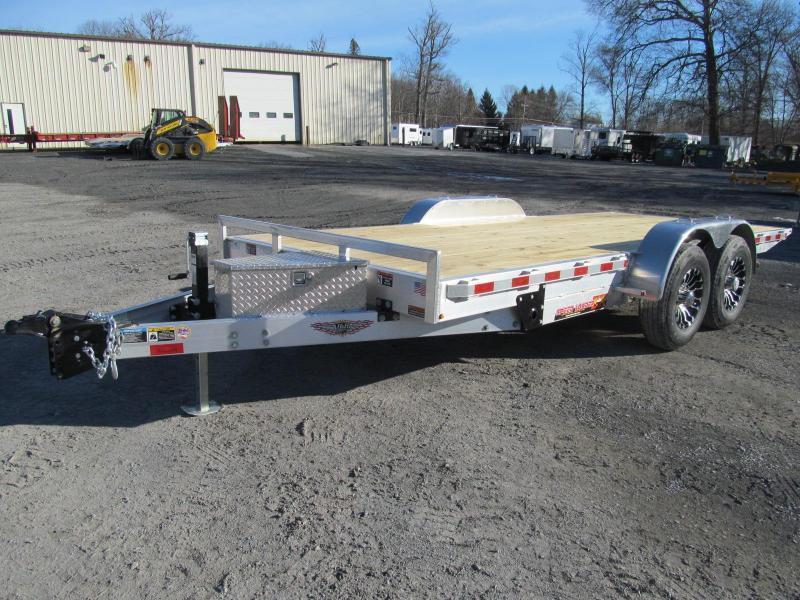 H and H Aluminum Speedloader 80 X 20 Equipment Trailer