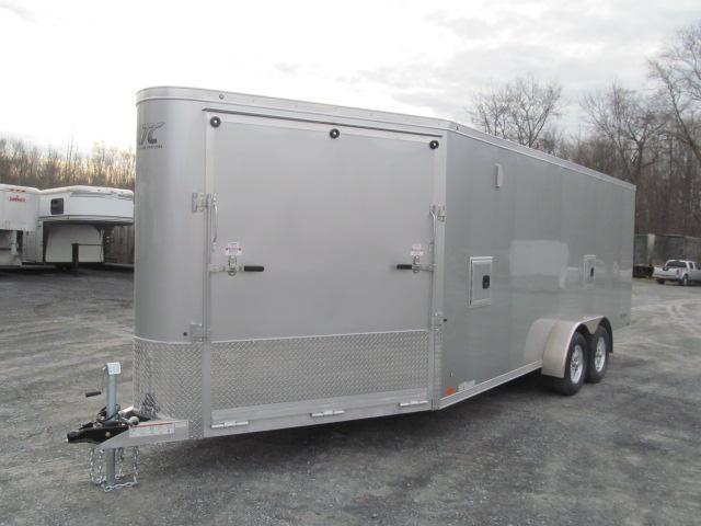 Aluminum Trailer Company Raven Sled Hauler Plus 3 Place Snowmobile Trailer