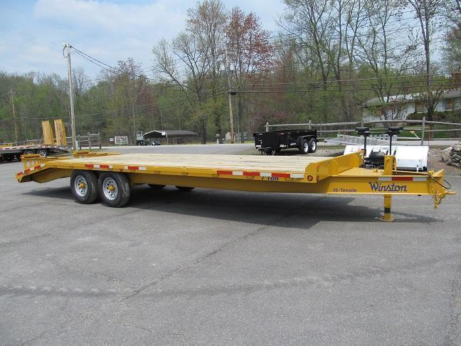 Winston 7 Ton 20 Plus 5 Ft Deckover Equipment Trailer