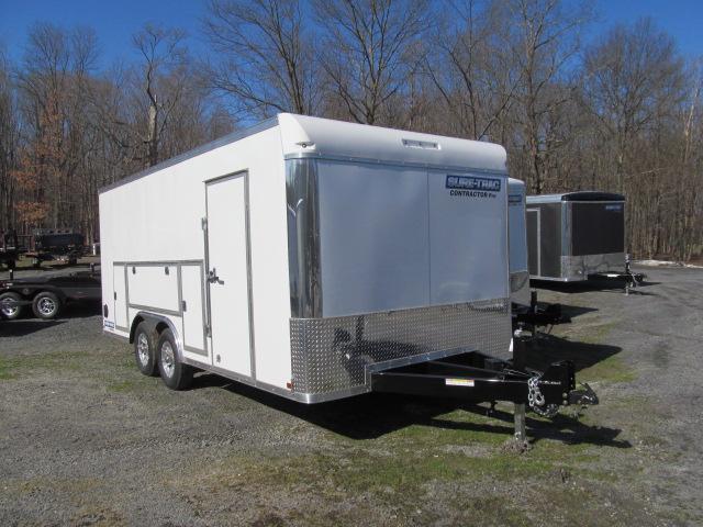 Sure-Trac 8.5 x 18 Contractor Pro Enclosed Trailer