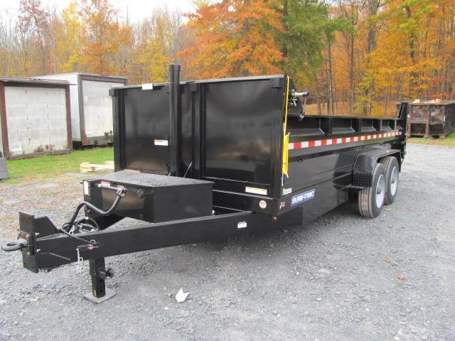Sure-Trac 82 IN x 16 HD 16K Low Profile Dump Trailer