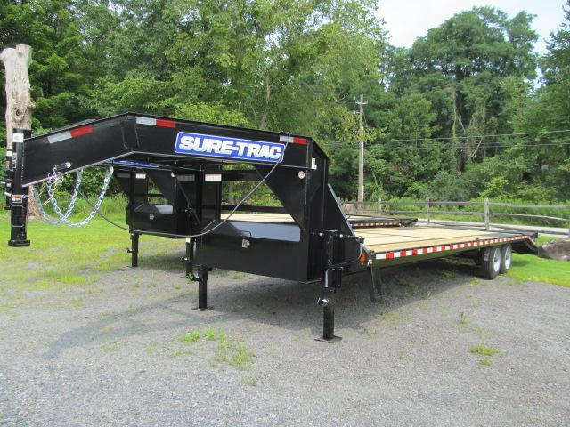 Sure-Trac 8.5 x 24+5 8 Ton Heavy Duty Gooseneck