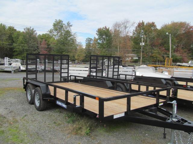 Sure-Trac 7 x 16 Tube Top Utility Trailer  7K Tand
