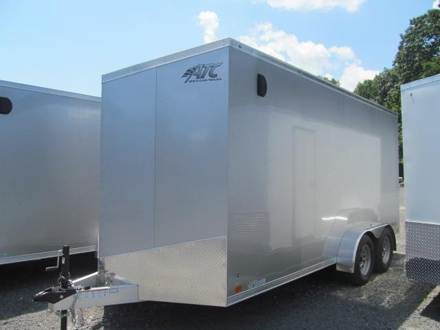 Aluminum Trailer Company 7 X 14 Raven Limited V Front Enclosed Cargo Trailer