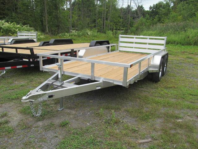 Sure-Trac Aluminum Tube Top 7 X 14 Utility Trailer