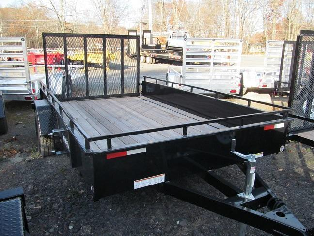 Sure-Trac 7 X 10 Steel High Side Utility Trailer