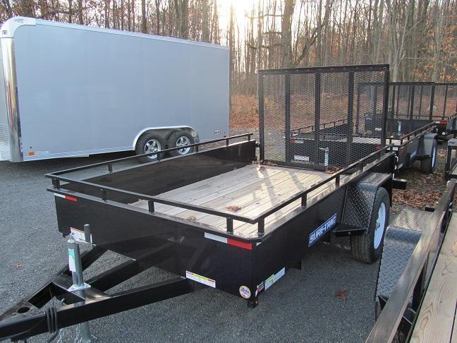 Sure-Trac 7 X 10 Steel High Side Utility Trailer
