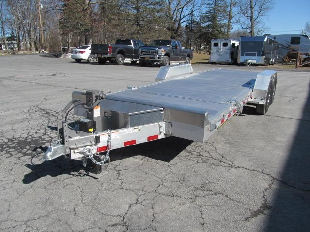 Aluma 82 X 22 All Aluminum 14K Tilt Equipment Trailer