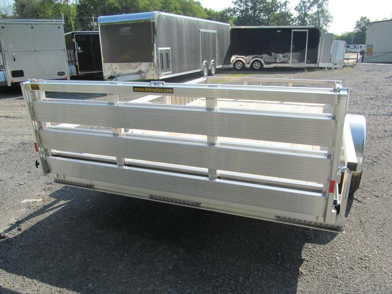 H and H Trailer 60 X 8 Utility Trailer