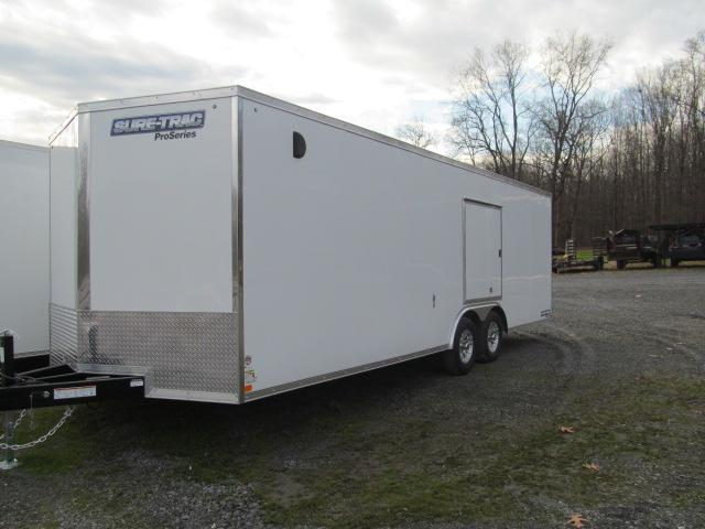 Sure-Trac 8.5 x 24 Pro Series Enclosed Wedge Car Hauler