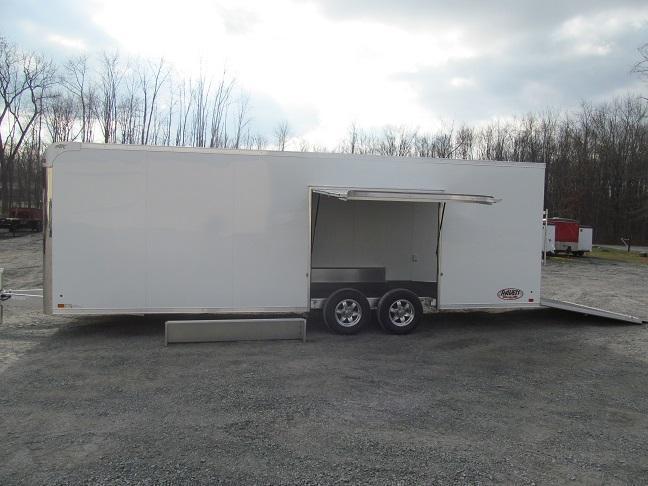 Aluminum Trailer Company 8.5 X 24 Raven CH Plus w/ Premium Escape Door