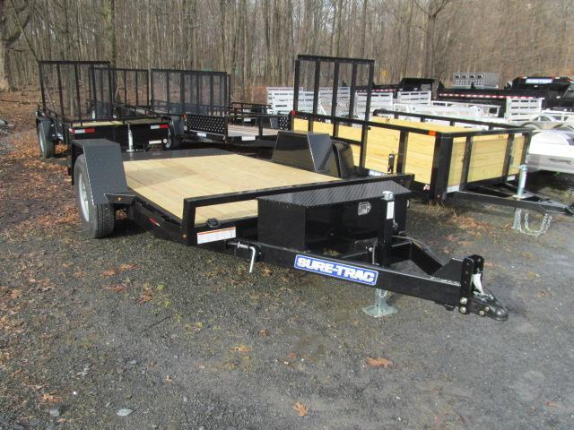 Sure-Trac 6.5 X 12 Tilt Equipment Trailer Equipment Trailer