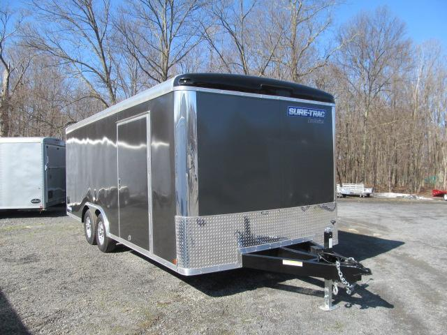 Sure-Trac 8.5 x 20 Pro Series Round Top Car Hauler