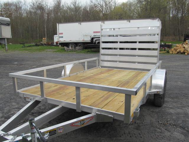 H and H Trailer 6 X 10 Aluminum Rail Side Utility Trailer