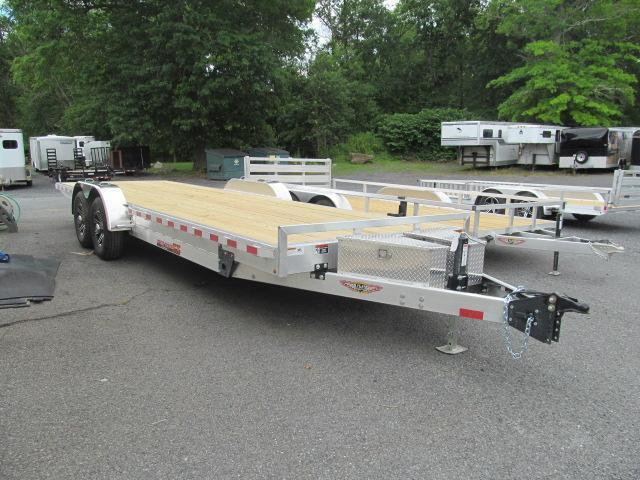 H and H Aluminum Speedloader 82 X 22 14K Equipment Trailer