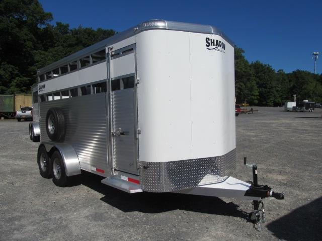 Shadow Trailers Rancher 16 Ft Bumper Pull Livestock Trailer