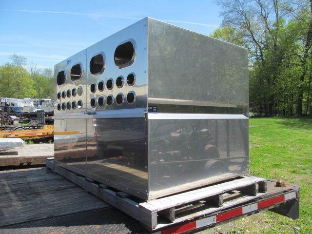 2021 EBY 6 Ft Livestock Box Truck Bed