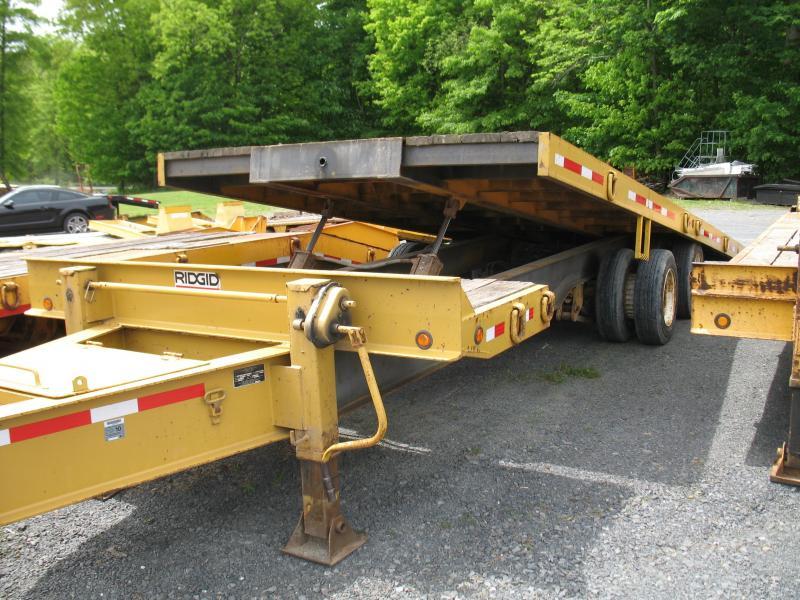 2002 Evaco Superline 20 Ton Tilt Equipment Trailer